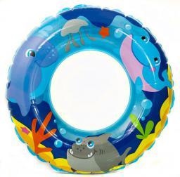 Aqua-Speed Koło do pływania Sea Adventures 51 cm kol 01 niebieski (48154)