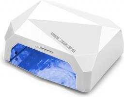 Esperanza Lampa UV do paznokci żelowych, hybrydowych  - ONYX (EBN002W)