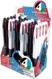 Easy Długopis czterokolorowy 24szt (233724)