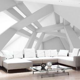 Artgeist Fototapeta - Biała konstrukcja 300x210