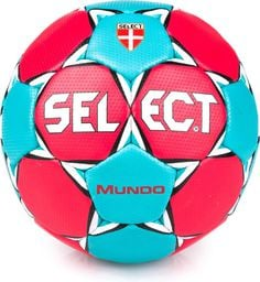 Select Piłka ręczna Mundo Senior czerwono- niebieska r. 3