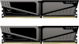 Pamięć Team Group Vulcan, DDR4, 16 GB,2400MHz, CL14 (TLGD416G2400HC14DC01)
