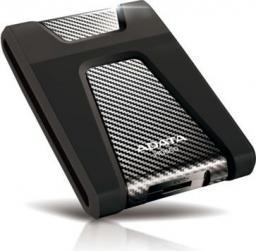 Dysk zewnętrzny ADATA HDD HD650 2 TB Czarny (AHD650-2TU31-CBK)
