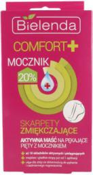 Bielenda Comfort + Aktywna maść na pękające pięty z mocznikiem - skarpety zmiękczające 2x6ml