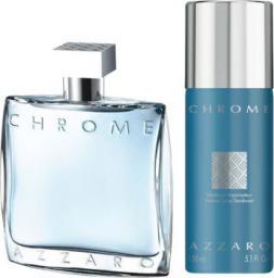 Azzaro Chrome Zestaw dla mężczyzn EDT 100ml + Dezodorant 150ml