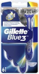 Gillette Blue 3  jednorazowa maszynka do golenia 6 szt