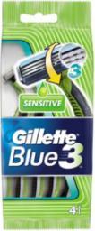 Gillette Blue 3 Sensitive  jednorazowa maszynka do golenia 5szt