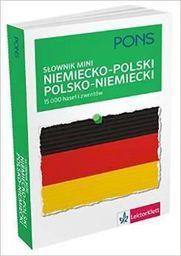 Słownik mini niemiecko - polski, polsko - niemiecki
