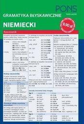 Gramatyka błyskawicznie. Niemiecki PONS
