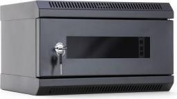 Szafa DigitalBOX START.LAN 10'' 4U 350x200mm czarna (STLWMC10C-4U-GSB)