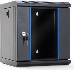 Szafa DigitalBOX RACK 10'',  6U,  312x300mm,  drzwi szklane (STLWMC10C-6U-GSB)