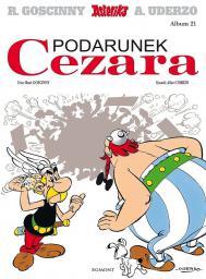 Asteriks. Album 21 Podarunek Cezara (109049)