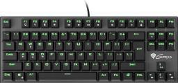 Klawiatura Natec Genesis Thor 300 TKL US Green (NKG-0945)