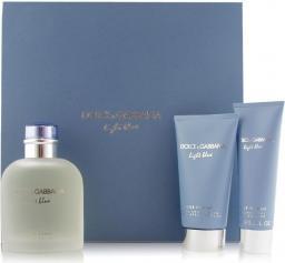 Dolce & Gabbana Light Blue Pour Homme Zestaw dla mężczyzn EDT 125 ml + 75ml balsam po goleniu + 50ml Żel pod prysznic