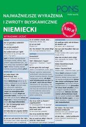 Najważniejsze wyrażenia i zwroty błysk. Niemiecki