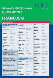 Najważniejsze słowa błyskawicznie. Francuski