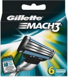 Gillette Mach 3 wkład do maszynki do golenia 6szt
