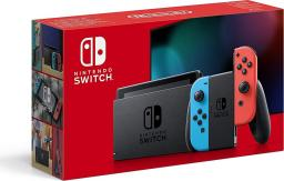 Nintendo Switch V2 Red & Blue