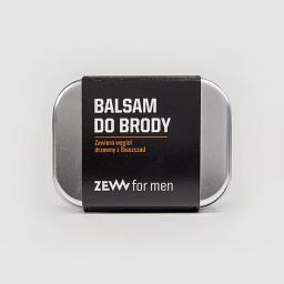 Zew for Men Balsam do brody zawiera węgiel drzewny z Bieszczad 80ml