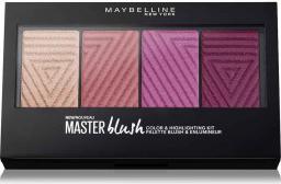Maybelline  Master Blush Color&Highlighting Palette paleta róży do policzków No. 10 14g