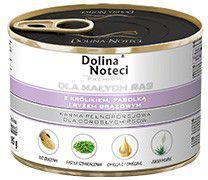 Łuków DOLINA NOTECI 100g MINI królik+fasola ryż brązowy