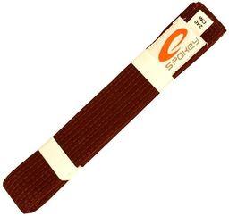 Spokey Pas do kimona Unsu brązowy 240 cm (85108)