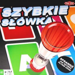Tactic Gra planszowa Szybkie słówka gra (54466)
