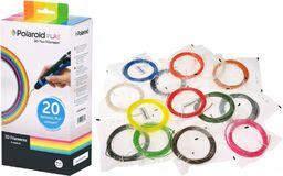 Polaroid Wkłady / filamenty do długopisu Polaroid 3D Pen. 20 sztuk/kolorów (3D-FP-PL-2500-00)