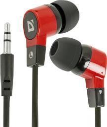 Słuchawki Defender Basic 619 czarno-czerwone (63619)