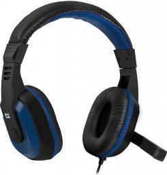 Słuchawki z mikrofonem Defender Warhead G-190 GAMING czarno-niebieskie (64116)