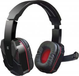 Słuchawki z mikrofonem Defender Warhead G-260 GAMING czarno-czerwone (64121)