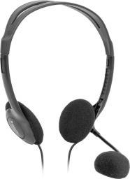 Słuchawki z mikrofonem Defender Aura HN-102 czarne (63102)