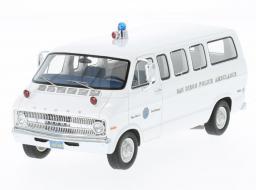 Neo Models Dodge Sportsman San Diego Police Ambulance 1973