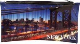 Piórnik Panta Plast z nadrukiem na suwak New York (231527)
