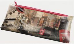 Piórnik Panta Plast z nadrukiem na suwak London (231529)