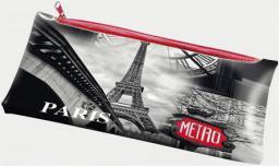 Piórnik Panta Plast z nadrukiem na suwak Paris (231528)