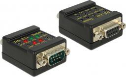 Delock Tester RS-232 DB9 żeński > DB9 męski (87713)
