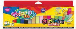 Patio Plastelina kwadratowa 18 kolorów Colorino