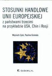 CeDeWu Stosunki handlowe Unii Europejskiej z państwami... - 117762