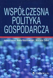 CeDeWu Współczesna polityka gospodarcza - 236314