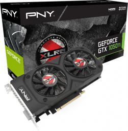 Karta graficzna PNY Technologies GeForce GTX 1050 Ti XLR8 OC Gaming 2 4GB GDDR5 (128 bit), DVI-D, HDMI, DisplayPort, BOX (KF105IGTXXR4GEPB)