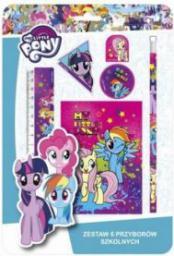 Derform Zestaw 6 przyborów szkolnych My Little Pony 10 (WIKR-1034696)