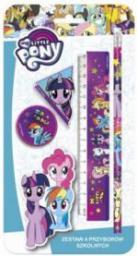 Derform Zestaw 4 przyborów szkolnych My Little Pony 10 (WIKR-1034695)