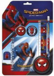 Derform Zestaw 6 przyborów szkolnych Spider-man Homecoming 10 (WIKR-1034809)