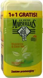 Le Petit Marseillais Żel pod prysznic Mandarynka i Limonka 1+1 gratis (250mlx2)