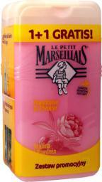 Le Petit Marseillais Żel pod prysznic Malina i Piwonia 1+1 gratis (250mlx2)