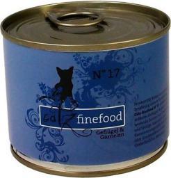 Catz Finefood N.17 Drób i Krewetki puszka 200g
