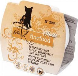 Catz Finefood Mus N.209 Drób/Tuńczyk/Sardynki tacka 100g