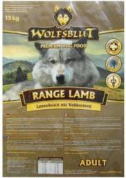 Wolfsblut Dog Range Lamb Adult jagnięcina i ryż 15kg