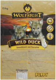 Wolfsblut Dog Wild Duck Puppy kaczka i bataty 15kg